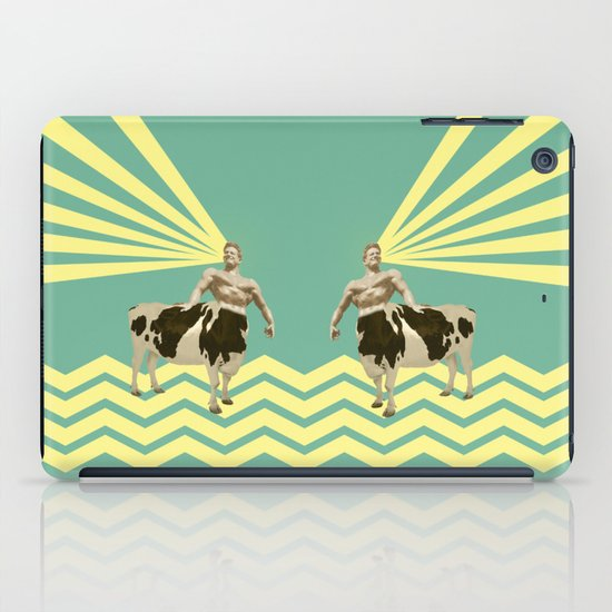 The real muscular cow-boy  iPad Case