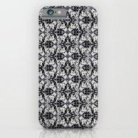 iPhone & iPod Case featuring Black Damask  by Elena Indolfi