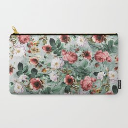 Carry-All Pouch - Rpe Seamless Floral Pattern I - RIZA PEKER