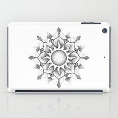 Dotwork mandala iPad Case
