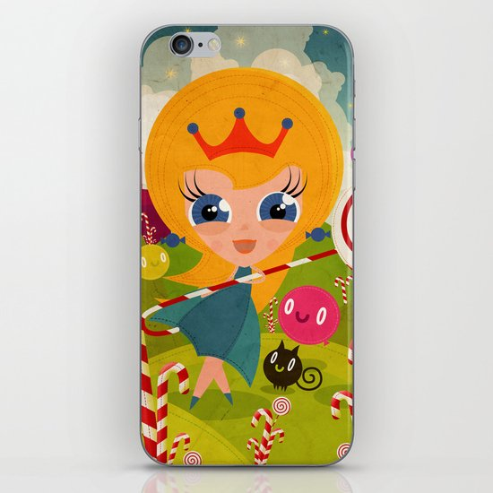Caramel Princess iPhone & iPod Skin