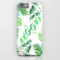 Leaf tropical pattern  iPhone 6 Slim Case