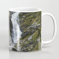 Moss Force Waterfall. Cu… Mug