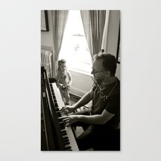 Piano Man Canvas Print