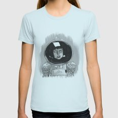 Ellen Ripley Alien Womens Fitted Tee Light Blue SMALL