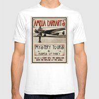 Mystery Tours & Flights … Mens Fitted Tee White SMALL