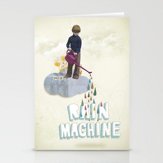 Rain Machine Stationery Card