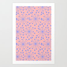 luv burst Art Print