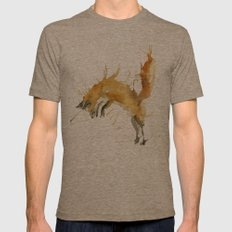 Jump Foxy Mens Fitted Tee Tri-Coffee SMALL