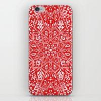 Amirah Red iPhone & iPod Skin