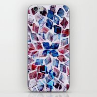 rhombus dance iPhone & iPod Skin
