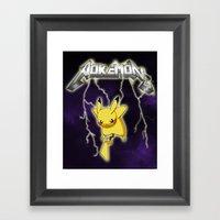 Metallichu Framed Art Print