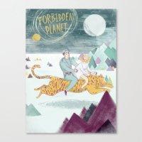 Forbidden Planet Canvas Print