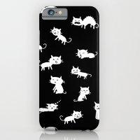 Cat Emotions iPhone 6 Slim Case