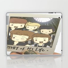 One Direction Story of My Life Cartoon Laptop & iPad Skin