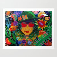 Mint Oreo Art Print