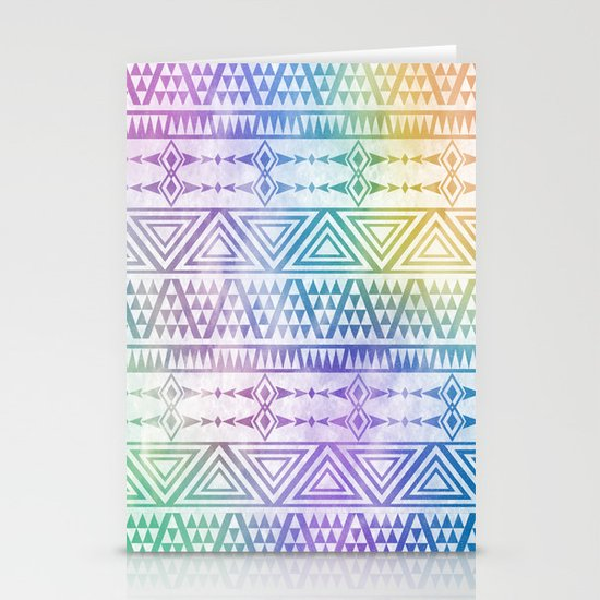Tribal Voice Stationery Card