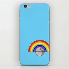 Death Star Rainbow iPhone & iPod Skin