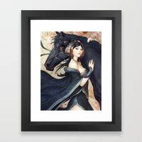 Pepper Empress Framed Art Print