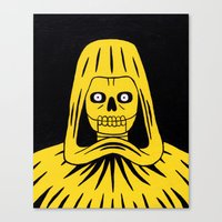Yellow Death Canvas Print