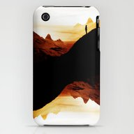 Red Wasteland  iPhone (3g, 3gs) Slim Case