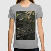 Otoño Womens Fitted Tee Athletic Grey SMALL