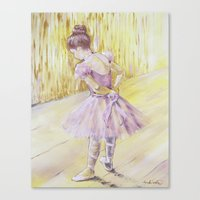 Olivia {ballet Dancer} Canvas Print