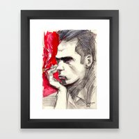 Nick Cave Framed Art Print