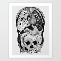 Gross Anatomy Art Print