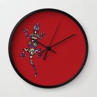 C13 GECKO 2 Wall Clock