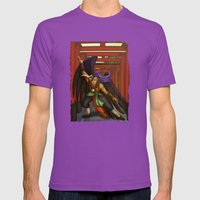 Tengu Monk Mens Fitted Tee Ultraviolet SMALL