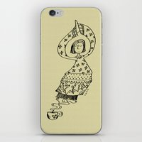 Coffee Genie iPhone & iPod Skin