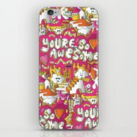 You're so awesome iPhone & iPod Skin