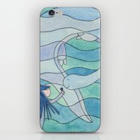 Loch Ness Monster iPhone & iPod Skin
