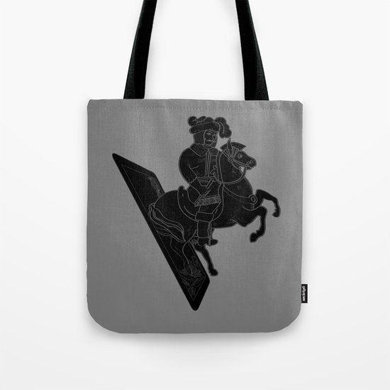 LAST CARD IN THE DECK BLACK Tote Bag
