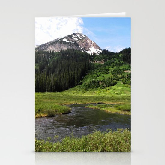 Crested Butte Stationery Card