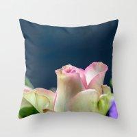 Softness Of A Rose Throw Pillow