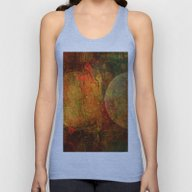 Abstract Moons Unisex Tank Top