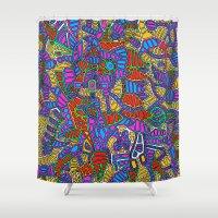 - summer mind - Shower Curtain