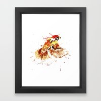 Sparrow Arrow Framed Art Print
