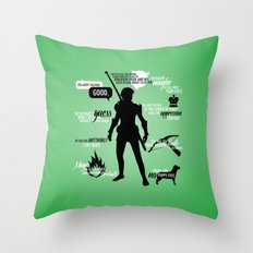 Dragon Age - Fenris Throw Pillow