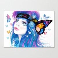 -Inconsistent Galaxies- Canvas Print