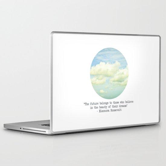 The beauty of the dreams Laptop & iPad Skin