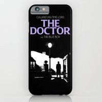iPhone & iPod Case featuring The Exorcist movie poster parody of Doctor Who 10th by BomDesignz