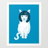 Bobcat. Art Print