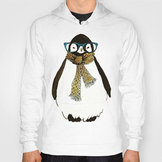 """""""Hipster Penguin"""" Hoody"""