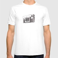 Instamatic X35 Mens Fitted Tee White SMALL