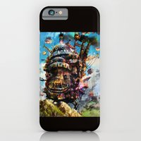 iPhone & iPod Case featuring howl's moving castle by ururuty