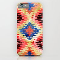 iPhone & iPod Case featuring Painted Navajo Suns by rollerpimp