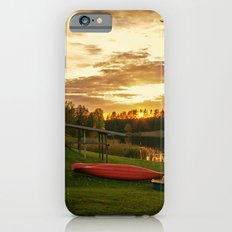 Sunset at Lakeside Lodge iPhone 6s Slim Case